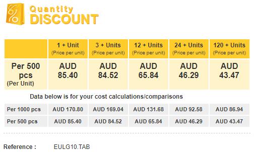 Euro Large Repair Book Quantity Discount